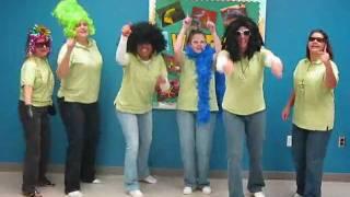 "Citrus Elementary School Leadership Team aka Citrus ""PEAS""  perform FCAT RAP"
