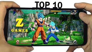 Top 10 Dragon Ball Z Games For Android