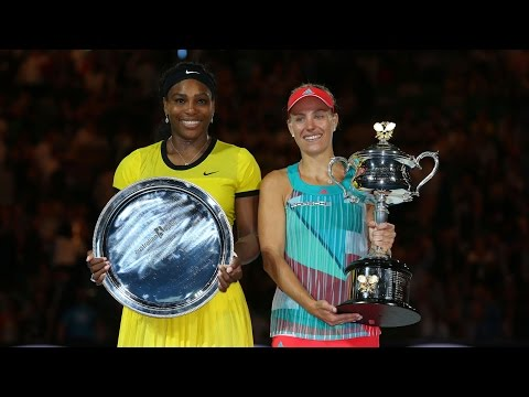 Serena Williams v Angelique Kerber highlights (Final) | Australian Open 2016