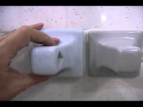 Installing Towel Bar - Grout Mount Type - DIY