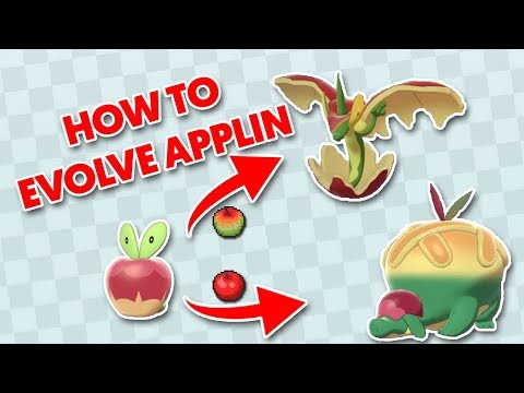 How To Evolve Applin / How To Get Tart Or Sweet Apple