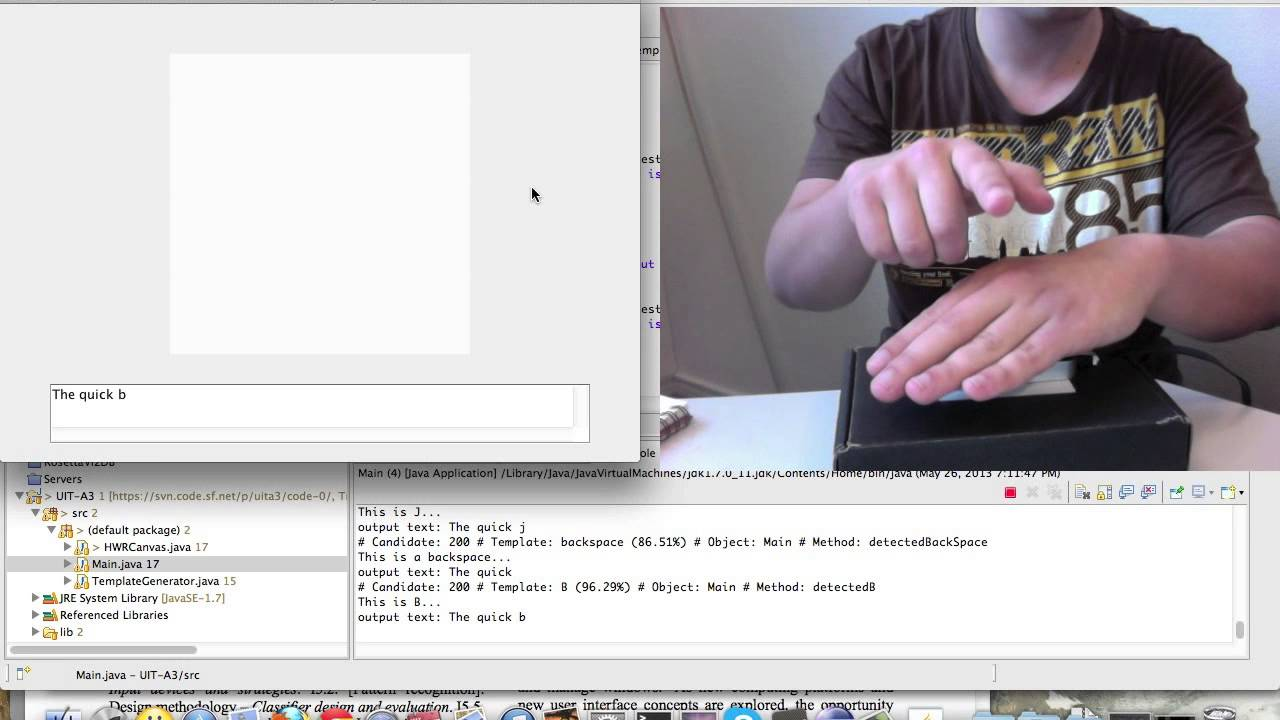 Uit a handwriting recognition using the leap motion youtube