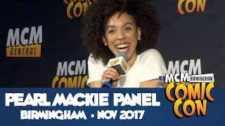 Pearl Mackie Panel From MCM Comic Con Birmingham - Nov 2017