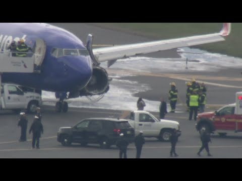 Southwest Airlines Plane Makes Emergency Landing At PHL