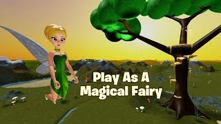 I'VE BEEN A beautiful FAIRY! (Roblox fairy simulator Level 1)