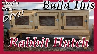 DIY Rabbit Hutch / Cage