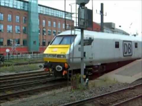DB Schenker Management Train 67030 + 67029 & 82146 Newcastle Central Station