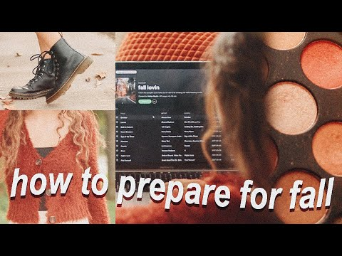 ↠ how to prepare for 𝔽𝔸𝕃𝕃  // fall inspiration '19