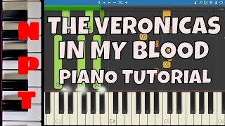 The Veronicas - In My Blood - Piano Tutorial