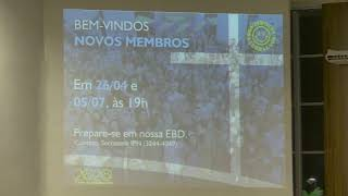 Culto Noturno 1/3/2020 - Rev. Obedes Jr.