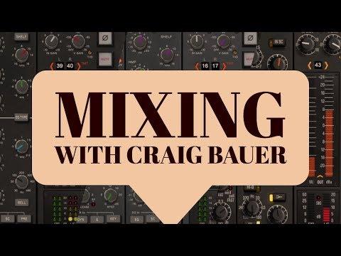 Into the Box: Craig Bauer demos Brainworx bx console G, E and N