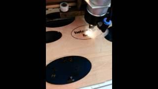 40w co2 laser ebay cut wood