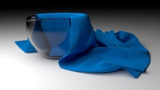 Симуляция ткани в Blender