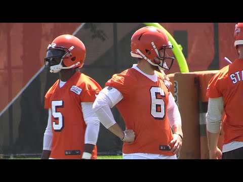 Browns OTAs: Watch Tyrod Taylor, Baker Mayfield and others in the first open practice (video)