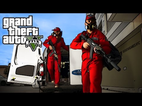 Grand Theft Auto V : Three wise monkeys Trailer