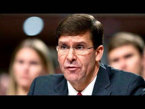 视中共为长期战略威胁的美国陆军部长埃斯珀 预计将很快会正式就任美国国防部长
