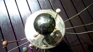 An Orrery, Mnemonics and the Planets in the Solar System