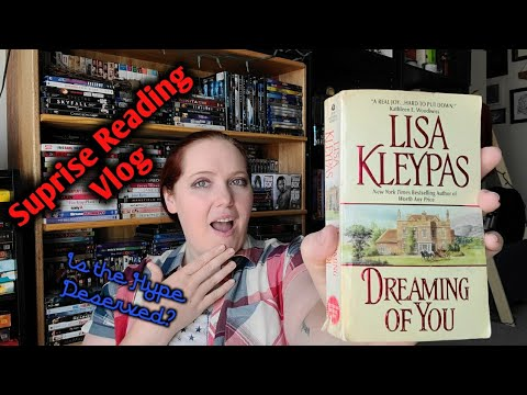 Suprise Reading Vlog | Dreaming Of You By Lisa Kleypas