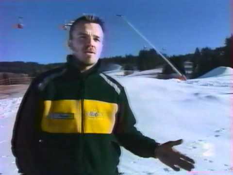Les canons à neige - JT France2 (23/12/2001)