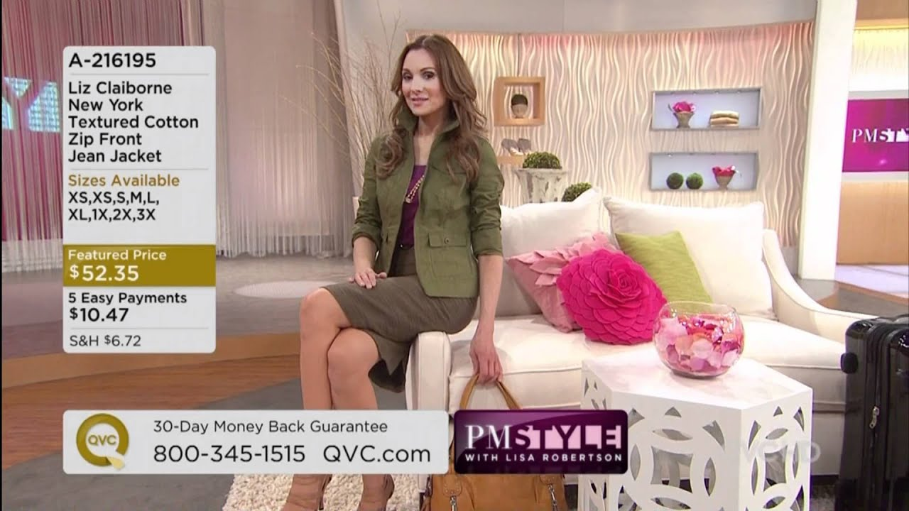 qvc model susanne thomson youtube. Black Bedroom Furniture Sets. Home Design Ideas