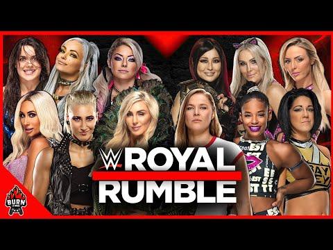 Download WWE WOMEN'S ROYAL RUMBLE MATCH 2021
