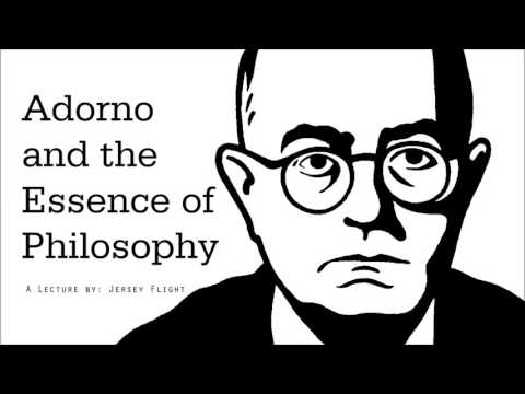 Adorno and the Essence of Philosophy