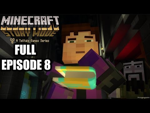 Minecraft Story Mode: FULL Episode 8 Gameplay Walkthrough - No Commentary