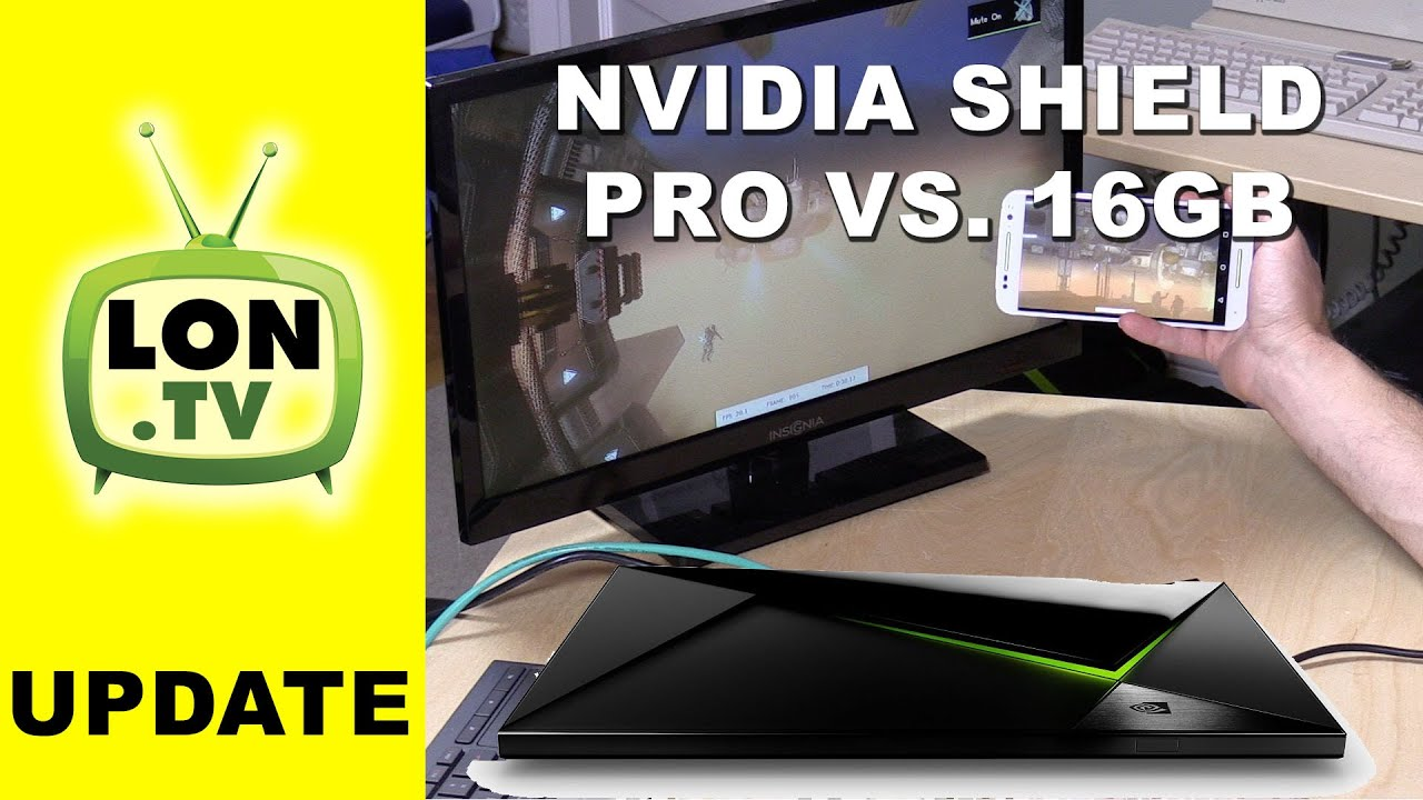 Nvidia Shield TV - Pro 500 GB vs  16GB version & Benchmarks
