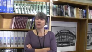 Нью Йорк  Бруклинская библиотека   Интервью с Аллой Рояланс США