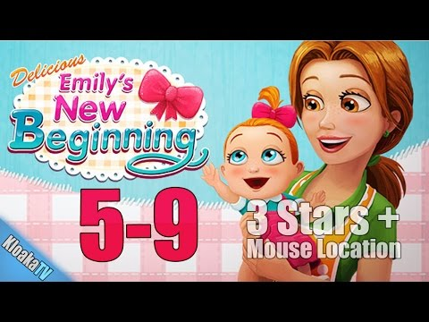 Delicious Emily's New Beginning - Level 5-9 Wu's Place Walkthrough
