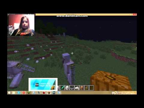 Tuto comment faire un golem de fer sur minecraft youtube - Minecraft golem de fer ...
