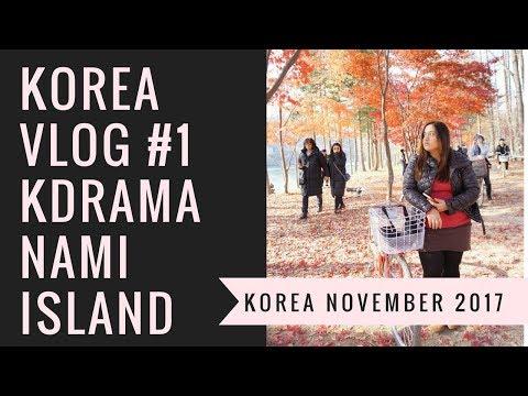 SOUTH KOREA VLOG #1 KDRAMA TOUR AND NAMI ISLAND - SOLO TRAVEL PHILIPPINES