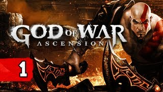 God of War Ascension Gameplay Walkthrough - Part 1 Wrath of the Furies Let