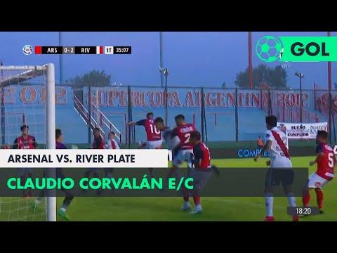 Claudio Corvalán E/C (0-2) Arsenal vs River Plate | Fecha 24 - Superliga Argentina 2017/2018