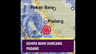 Gempa Bumi Guncang Padang