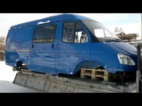 Кузов ГАЗ 2705 7-ми местн. в сборе под дв. ЗМЗ 406.3