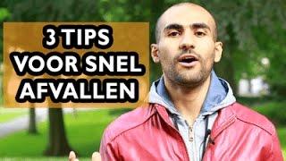 3 Tips Voor Snel Afvallen Voor De Zomer (10 Kilo Of Meer) Video