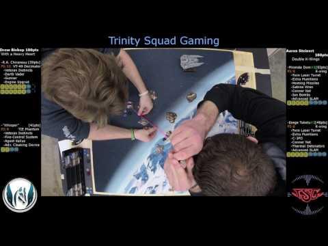 X-Wing Sacramento Regional Championship |Great Escape Games | Drew vs Aaron