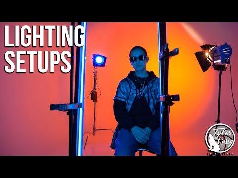 Music Video Lighting Set Ups! (Ring Light/Quasar Lights!)