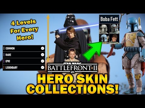 HERO SKIN COLLECTIONS! Star Wars Battlefront 2 thumbnail