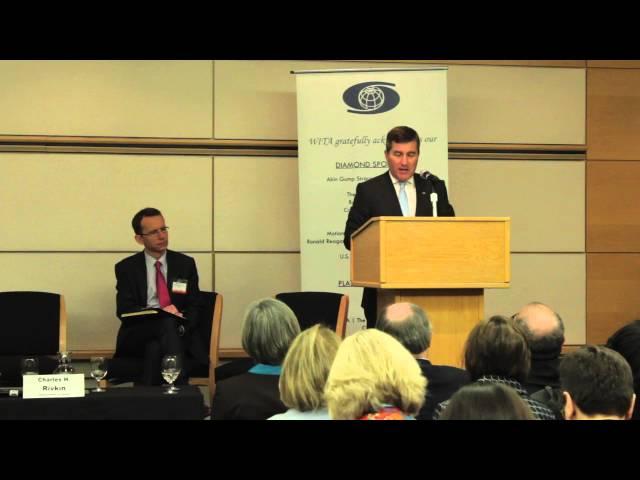 WITA TPP Series: New Rules & Disciplines-Amb. Charles H. Rivkin 1/14/16