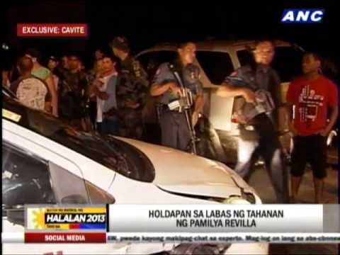 Suspected robber nabbed near Revilla home