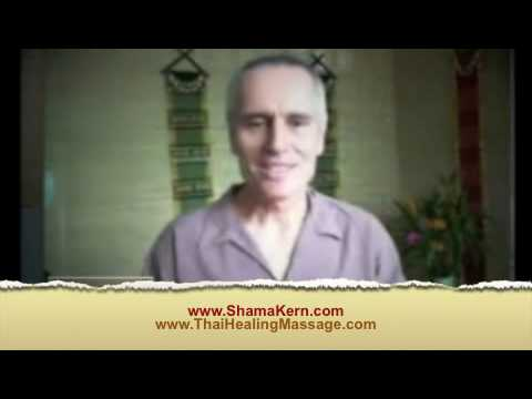 Thai Massage Live From Thailand with Shama Kern