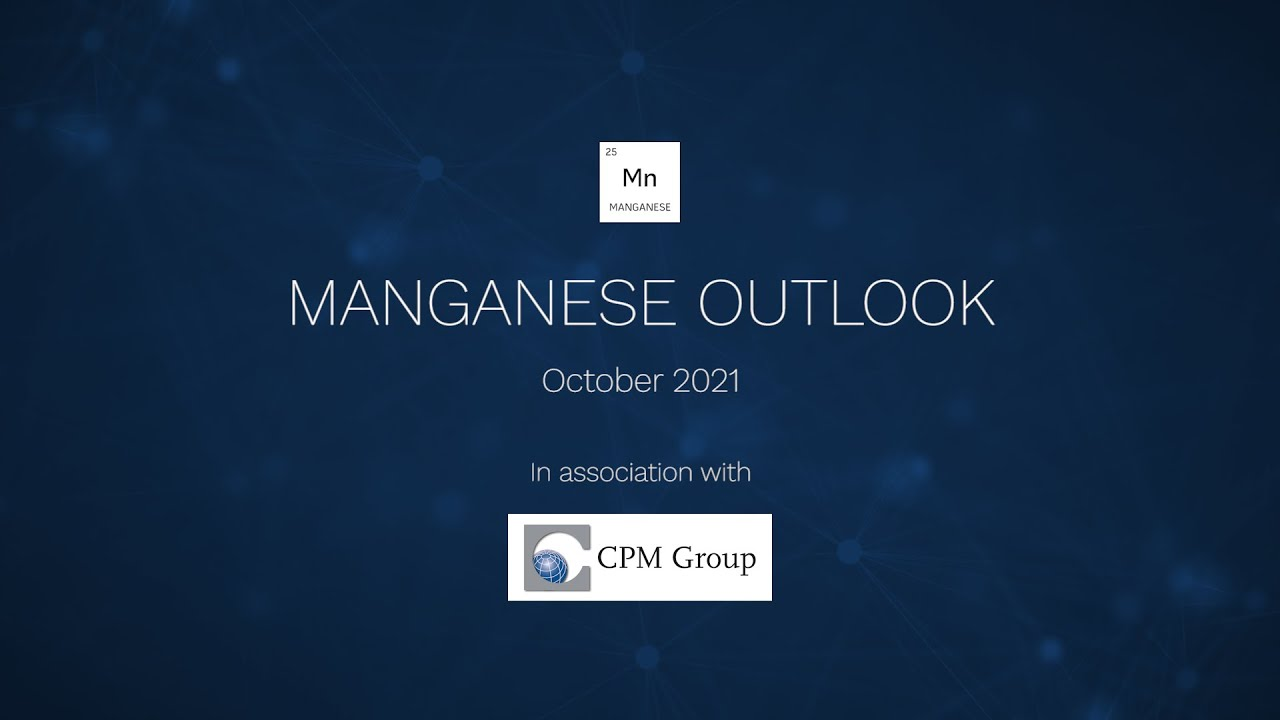 Manganese Outlook, 5x world production deficit looming with CPM Group