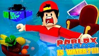 ROBLOX Adventure - THE FLOOR IS WATER???!!
