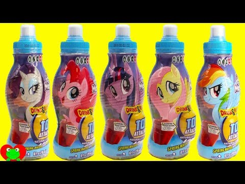 My Little Pony Movie Drink and Play Toy Surprises