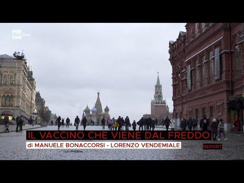 Sputnik, il vaccino che viene dal freddo - Report 12/04/2021