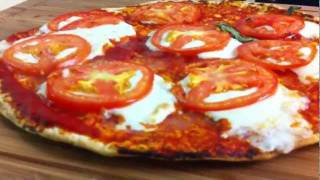 How To Cook Delicious Healthy Pizza Flat Bread In 5 Minutes? Damascus Bakeries