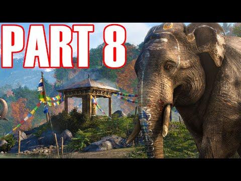 Far Cry 4 Gameplay Walkthrough Part 8 - TOO CLUTCH! |  Walkthrough From Part 1 - Ending