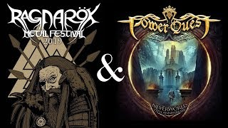 Power Quest In London & Ragnarök Metal Fest 2019